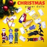 Christmas Around the World Traditions with Printable Dress