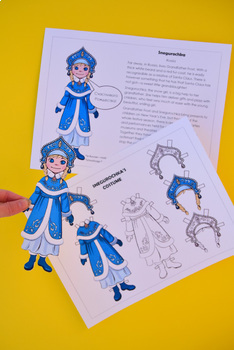 Christmas Around the World Traditions with Printable Dress-Up Dolls