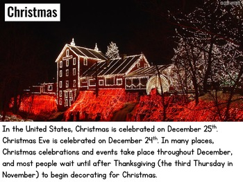 Christmas Around the World: UNITED STATES {Powerpoint Presentation}