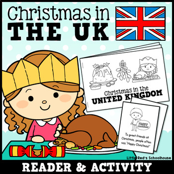 Christmas Around the World - United Kingdom Differentiated Mini Book