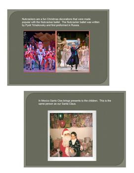 Holidays/ Christmas Around the World Videos and Activities