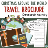 Christmas Around the World Travel Brochure Web Quest Research Activity