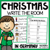 Christmas Around the World Write the Room {Germany} FREE