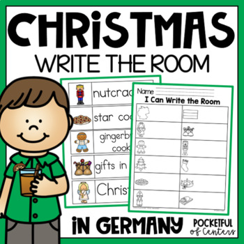 Christmas Around the World Write the Room {Germany}