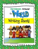 Christmas Around the World Writing Sheets