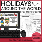 Holidays Around the World Print and Digital Distance Learning