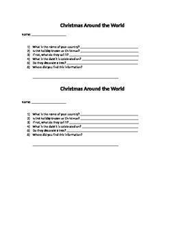 Christmas Around the World pt 1