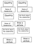 Christmas Around the World research labels