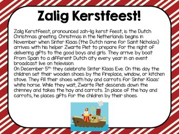 Christmas Around the World the Netherlands