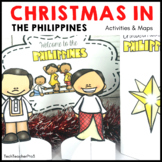 Christmas Around the World THE PHILIPPINES map traditions food flags