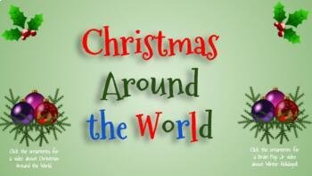 christmas around the world with links on google slides tpt