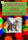 Christmas Art Activities. 15 Grid Drawings