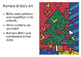 Christmas Art Activity - Britto Christmas Trees - Pattern Christmas Trees