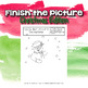 Christmas Art Activity: Finish the Picture!