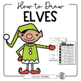 Christmas Art Activity - How to Draw Elves