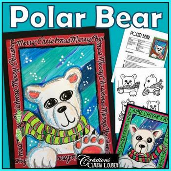 Winter Art Activity: Polar Bear