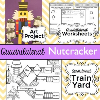Christmas Math: Quadrilateral Nutcracker