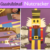 Christmas Math Quadrilateral Nutcracker | Fun Christmas Activity!