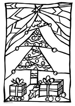 Christmas Art- FREEBIE