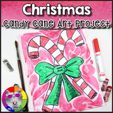Christmas Art Project, Candy Canes