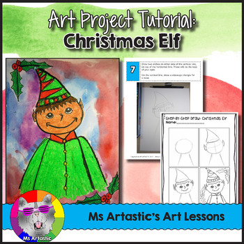 Christmas Art Lesson, Christmas Elf