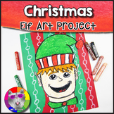 Christmas Art Project, Santa's Elf