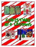 Christmas Art Lessons
