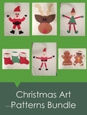 Christmas Art Patterns Bundle