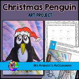 Christmas Art Project, Penguin
