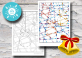 Christmas Art Lesson– Christmas Baubles