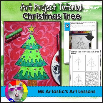 Christmas Art Project, Christmas Tree