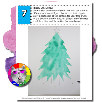 Christmas Art Project, Christmas Tree