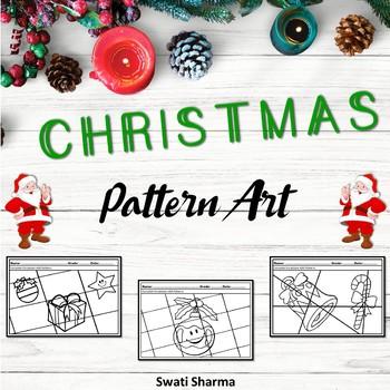 Christmas Art Project, Pattern Art/Pop Art