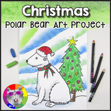 Christmas Art Project, Polar Bear