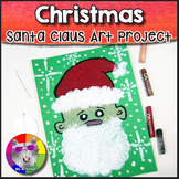 Christmas Art Project, Santa Claus