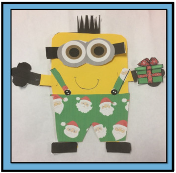 Christmas Art Project for Primary Grades