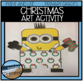 Christmas Art Activity : Print and Make for A Great Bulletin Board