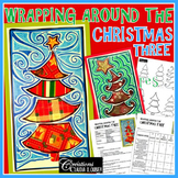 Christmas : Art activity: Wrapping Around the Christmas Tree !
