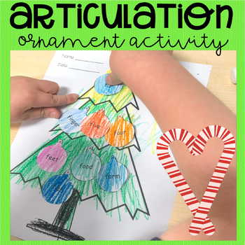 Christmas Artic Activity (Fricatives)