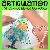 Christmas Articulation Ornament Activity