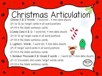 Christmas Articulation