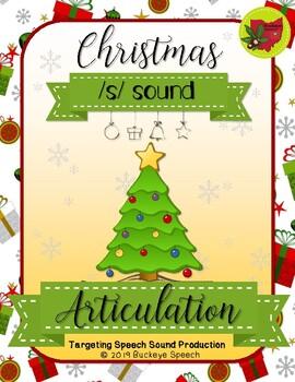 Christmas Articulation Activity - S Sound!