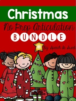 Christmas Articulation Bundle