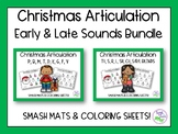Christmas Articulation Bundle: Early & Late Sounds for Spe