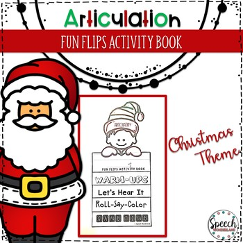 Christmas Articulation Fun Flips - Activity Book