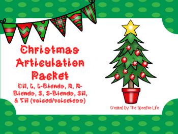 Christmas Articulation Game