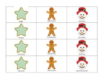 Christmas Articulation Game for R and S