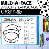 Christmas Build-A-Face For Articulation & Language