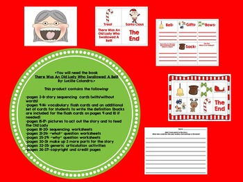 Christmas Articulation, Language, and Game Bundle