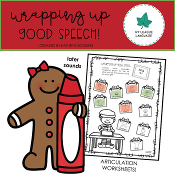 Christmas Articulation: Later Sounds - Wrapping Up Good Speech